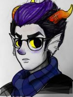Eridan Ampora by cyanide-and-sunshine