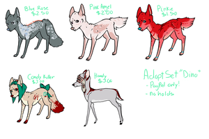 Adopts Set 'Dino' - now for points too by boniest