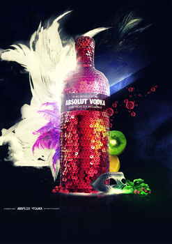 Absolut Vodka Masquerade by RomiSh