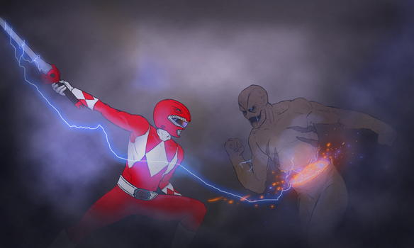 Red Ranger by NiteOwl94