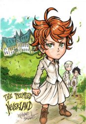THE PROMISED NEVERLAND by Djiguito