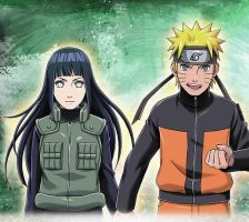 NaruHina Card Kawaii by AiKawaiiChan