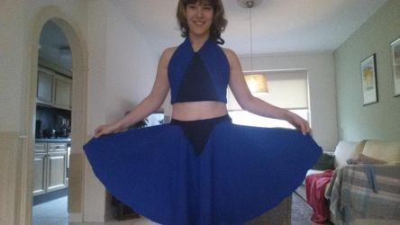 Lapis Lazuli cosplay outfit by Roxanne13579