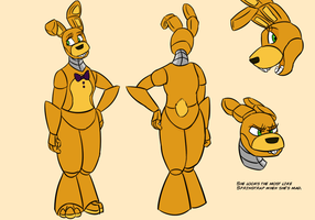 Character Sheet - Spring Bonnie by RuneVix
