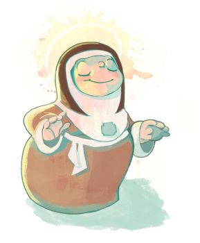 Little Nun by Chiara-Maria