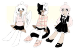 pretty n pink adoptables // CLOSED by decovamp