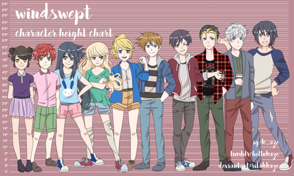 WS: Height Chart by rilakkaze