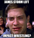 Crying Peter Parker-James Storm by EarWaxKid