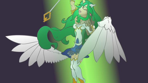 Star Guardian Soraka [WIP 3] by altimis