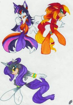 My Little Elements of Chaos by DgShadowChocolate