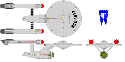 U.S.S. Constellation (Heavy Crusier) [Pre-T5YW] by Quantum808