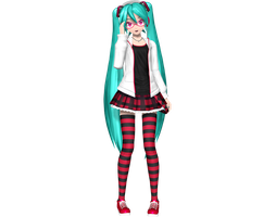 Project Diva Arcade Future Tone Natural Miku by WeFede