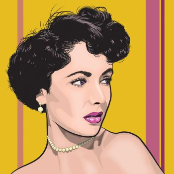 Elizabeth Taylor, one and only! by dccanim
