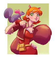 Squirrel Girl by pungang