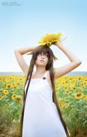 Alice with sunflowers 4 by CrazyRabbit