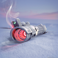 Frozen Lightsaber by UnbiasedRaytracer