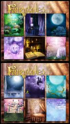 Fairytales Backgrounds by cosmosue