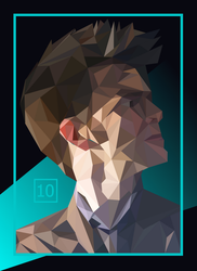 Tenth Doctor by Galaxish