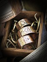 New rune rings by Zbranek