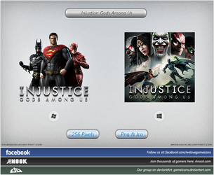 Injustice: Gods Among Us - Icon by Crussong