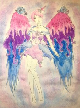 Water Colour Fairy by Eroinette