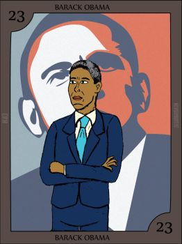 Barack Obama by Nerdroditie
