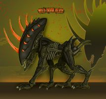 Wild Boar Alien by Escama