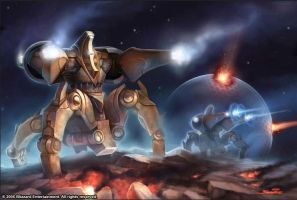 Starcraft - Immortal by SamwiseDidier