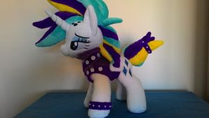 mlp plush-punk rock Rarity-for sale by Masha05