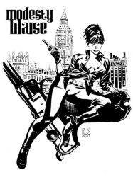 Modesty Blaise by ronsalas