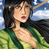 Mulan by FlyingPings