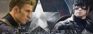 Captain America - facebook cover by letydb