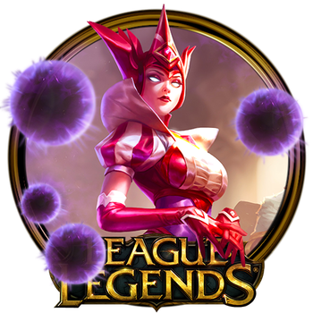 Queen of Diamonds Syndra Dock Icon by OutlawNinja