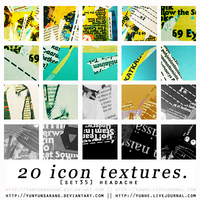 20 icon textures - headache by yunyunsarang
