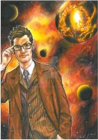 Doctor Who- Galaxy On Fire by Hognatius