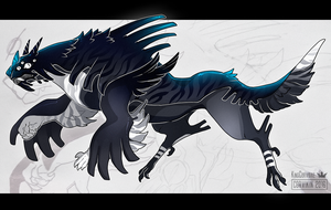 Leatherback Monster - CLOSED by KngCorvidae