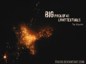Big Pack of Light Textures by Frasio
