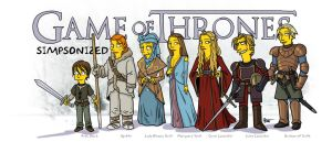Game Of Thrones Simpsonized (series 2) by ADN-z