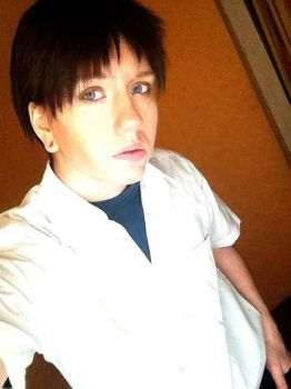 Wig Test  Shinji Ikari by Devil-Kasai