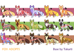 [OPEN] 20 point Fox Adopts [7/15] by Takarti