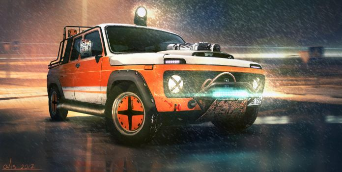 lada niva 4x4 by Or1s