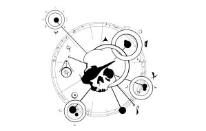 STDWL Jolly Roger v.2 -White by SpacePirateCaine