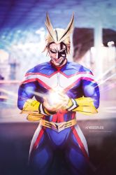 ONE FOR ALL - ALL MIGHT BNHA Cosplay by Leon Chiro by LeonChiroCosplayArt