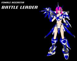 FEMME ACCRETIA BATTLE LEADER by JPL-Animation