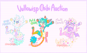 Chibi Vullowisp {Auction} {closed} by MoggieDelight