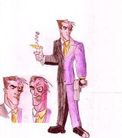 The Two-Face by Anicomicgeek