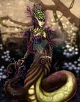 Lamia Nature Goddess by KaeMcSpadden