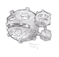 Weezing by DrChrisman