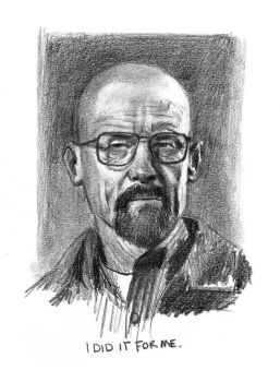 Walter White/Heisenberg by TheNecco