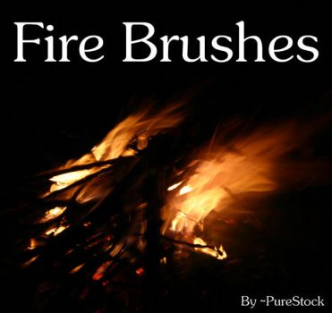 Fire Brushes by PureStock